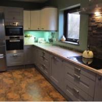 Drayton Kitchen project May 2016 – Magnet Kitchen design installed by CJMH Ltd