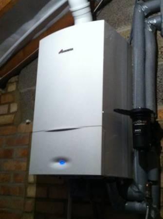 Worcester Bosch Greenstar Condensing System Boiler 24kw (Masefield Crescent – Abingdon – Sept 2014)